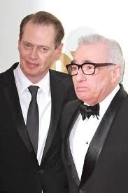 Steve Buscemi with Martin Scorcese
