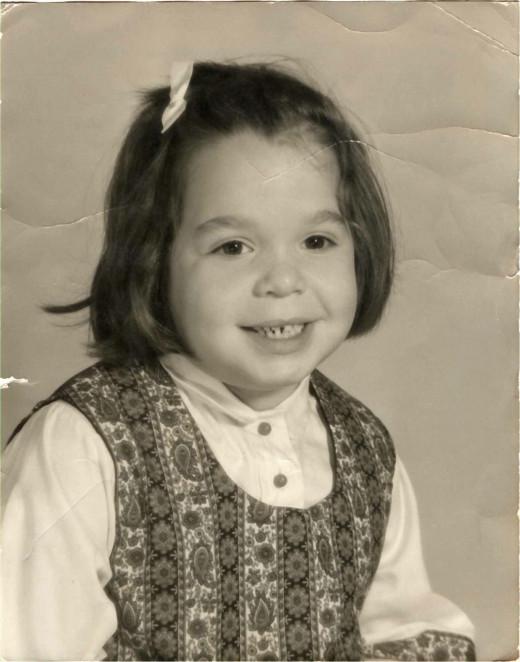 5 year old little Lori