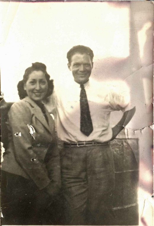My parents in 1938.