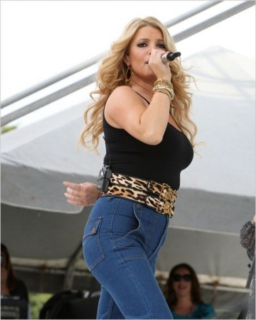 "And, while we're on the subject of ""fat,"" who can forget Jessica Simpson in her ""mom jeans."" Interestingly, high waisted jeans are coming back into fashion."
