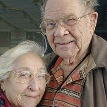 The most adorable parents in the whole wide world. Joe and Gertie