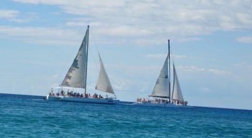 Saona island catamaran