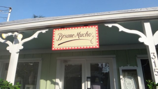 Besame Mucho has some eclectic gifts if you're in the Bahama Village neighborhood