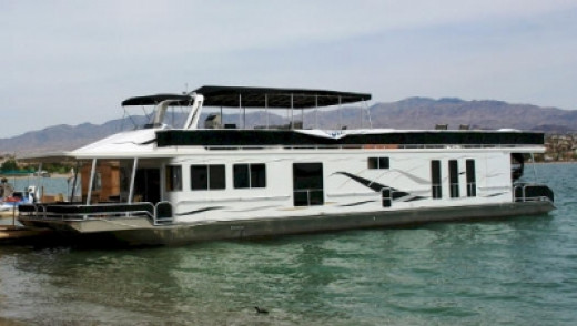 About 15 years ago, my family rented a houseboat on Lake Powell in Arizona/Utah.