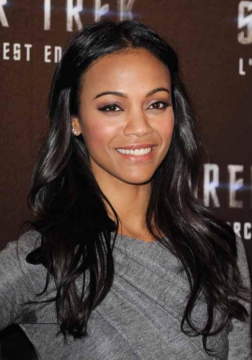 Zoe Saldaña will play Uhura