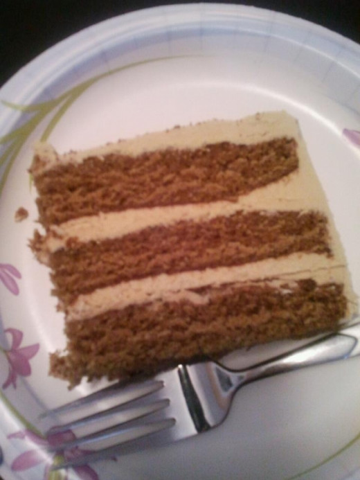 3 Layer, Sticky Toffee Pudding Cake with Sticky Toffee Buttercream