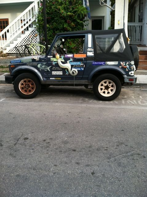 This jeep has the Key West flair