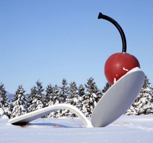 Winter Spoonbridge & Cherry