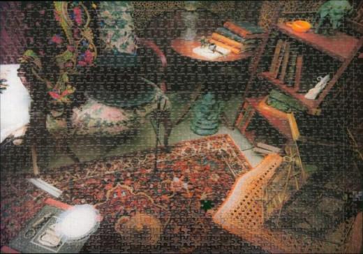Sherlock holmes jigsaw from my brother