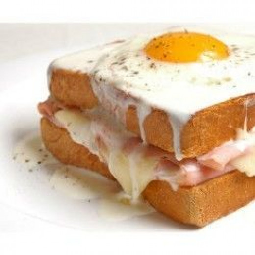 Croque-madame image is a courtesy of