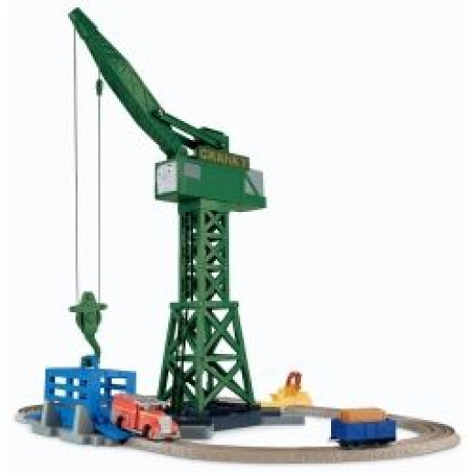 TrackMaster Cranky and Flynn Save the Day Playset