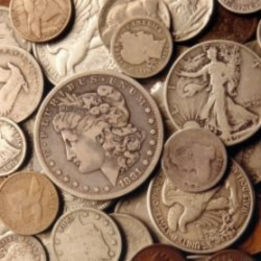 Affordable US silver coin photo from: