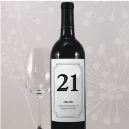 Wine Label Personalized