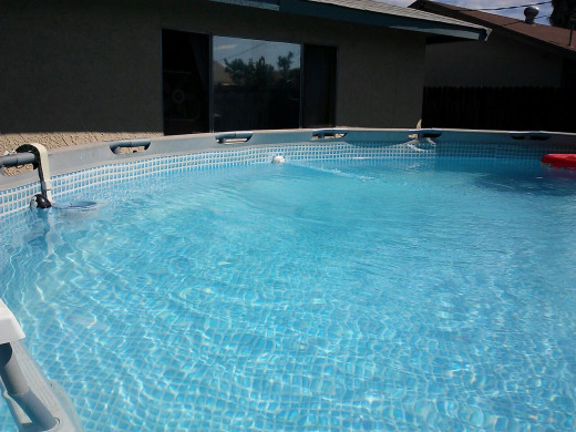 Photo of our pool 9/1/13