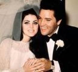 Elvis Presley and Priscilla Beaulieu