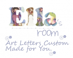 Custom Personalized Name Art For Childs Room