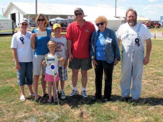 The Maase Family & The Event Judges