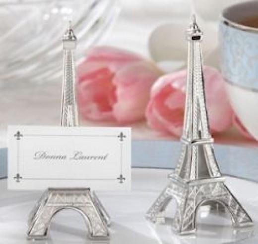 Eiffel Tower Placecard Holders