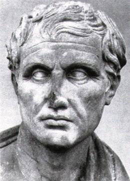 The Roman National poet, Virgil (70B.C. - 19B.C.)