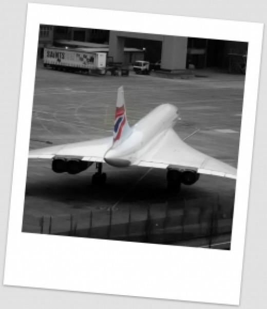 British Airways Concorde G-BOAB