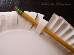 Paper Plate Pencil by Gretchen Little All Rights Reserved