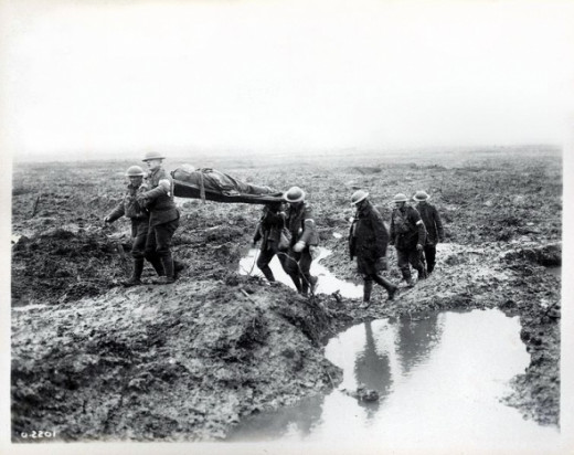 "Soldiers nicknamed it ""The Battle of Mud""."