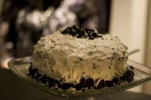 Oreo frosting