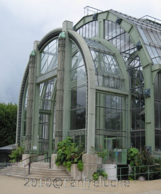 The Greenhouse of le Jardin des Plantes