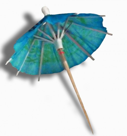 Millions of Drinks Worldwide come with a little umbrella.