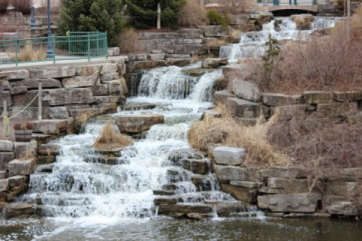 River Place Waterfall