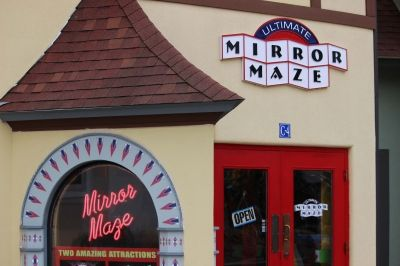 The Ultimate Mirror Maze: Get Lost for Minutes, Hours... or All Day!
