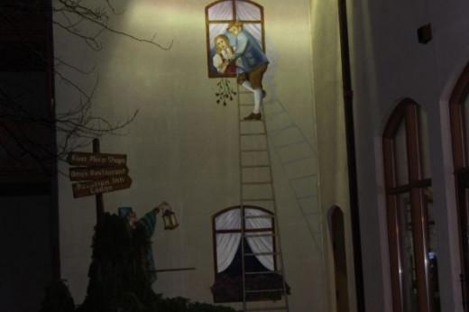 Bavarian Inn Sommer Garten Mural