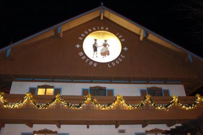 Bavarian Inn: Decorated for Easter