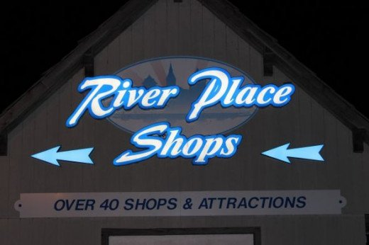 River Place at Night