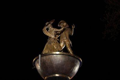 Dancing Statue Fountain