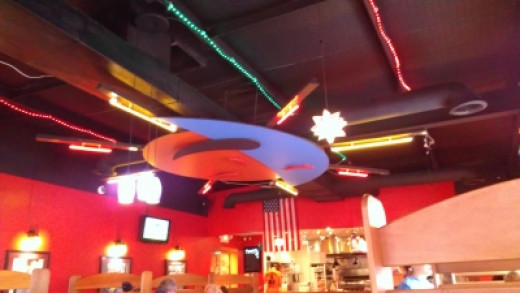 T. Dub's Ceiling Lights: What A Fun Place!