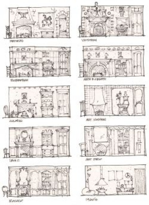 Architectural Styles - useful for sets