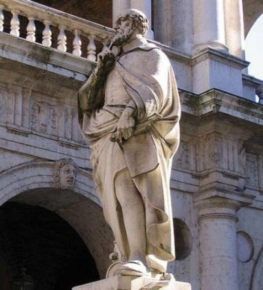 Statue of Andrea Palladio