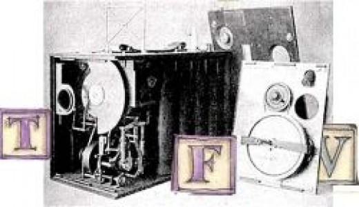 Aeroscope film camera 1910