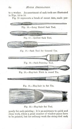 Paint brushes courtesy of Vintage Printable