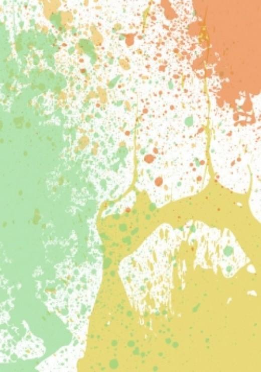 public domain splatter, er, sPATter image
