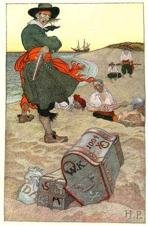 Illustrator Howard Pyle's pirate