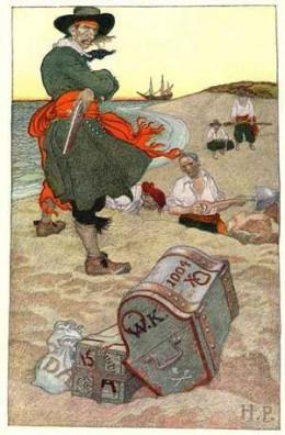 Illustrator Howard Pyle's pirate