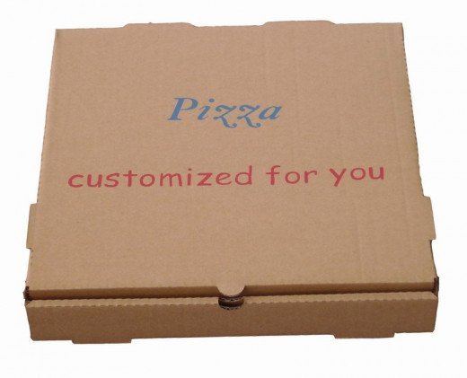 Cheapest storage: the PIZZA BOX!