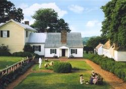 Monroe's yard at Ash Lawn-Highlands, Virginia