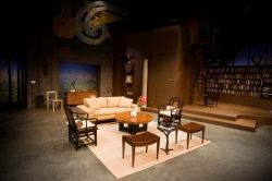 The Goat or Who Is Sylvia? at Kitchen Dog Theater, set design by Clare Floyd DeVries