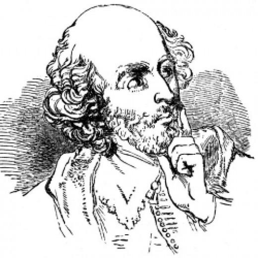 William Shakespeare AKA The Bard AKA The Swan of Avon
