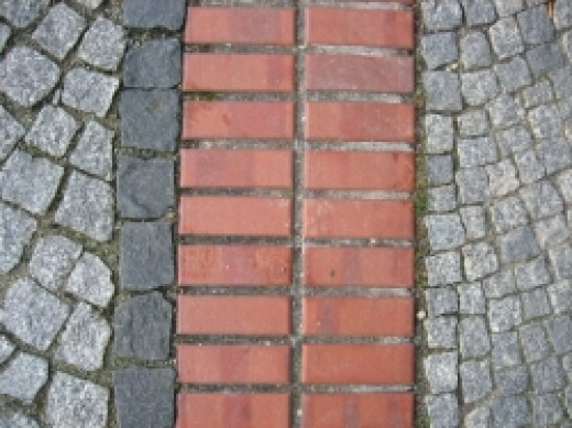 Paving stones and bricks