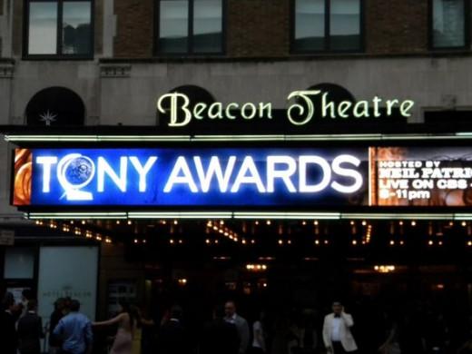 Public domain photo of the Tony's.