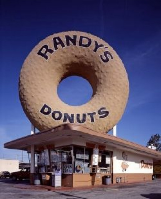 Randy's Donut Shop - public domain photo